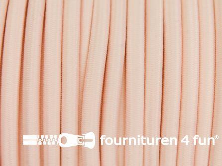 Elastisch koord 4,5mm zalm roze