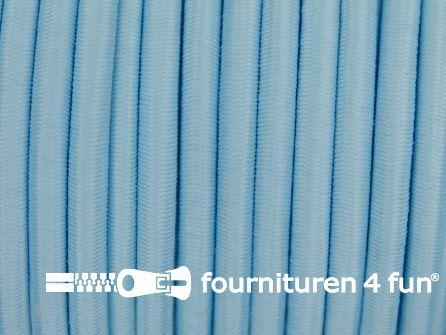 Elastisch koord 4,5mm licht blauw