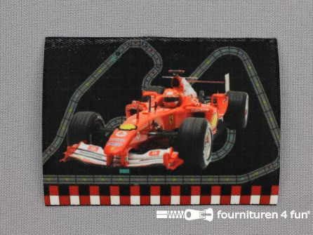 Applicatie 63x85mm Formule 1 - Ferrari