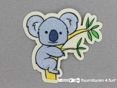 Applicatie 67x62mm koala