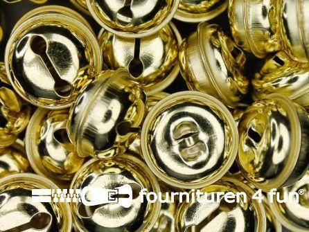 Belletjes 26mm goud 50 stuks