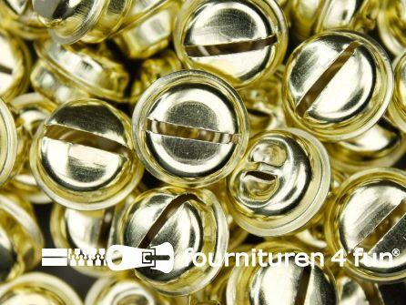 Belletjes 20mm goud 50 stuks