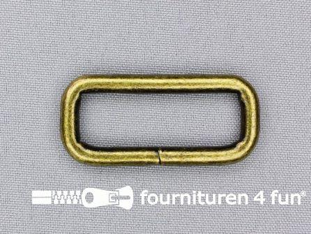 Schuifpassant 40mm brons heavy duty