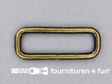Schuifpassant 50mm brons heavy duty