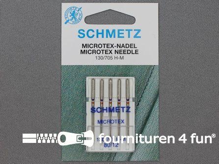 Schmetz machine naalden - microtex 80