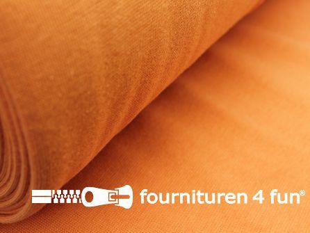 Fijn boordstof 35cm licht oranje