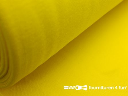 Fijn boordstof 35cm fel geel