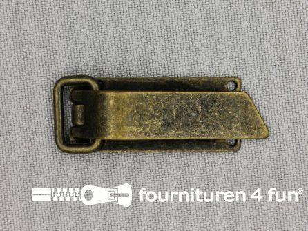 Bontclips 9mm brons