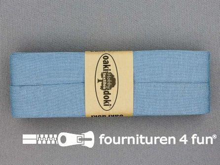 Tricot biaisband 20mm x 3 meter hemels blauw
