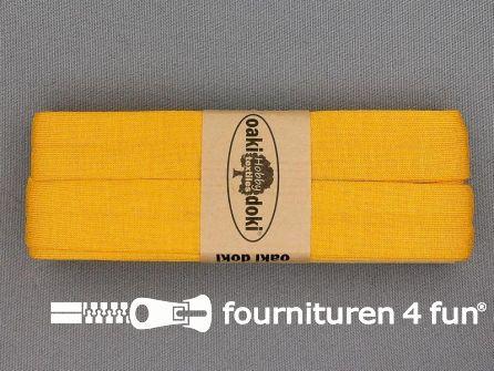 Tricot biaisband 20mm x 3 meter maïs geel (711)