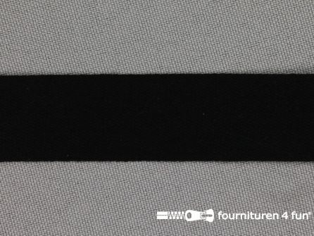 Rol 50 meter Katoenen keperband 19mm - zwart