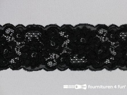 Elastisch kant 60mm zwart