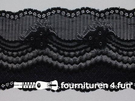 Elastisch kant 120mm zwart