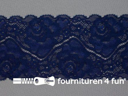 Elastisch kant 85mm marine blauw