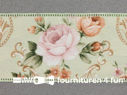 Vintage lint 40mm multicolor