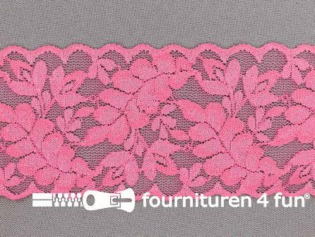 Elastisch kant 60mm fel roze
