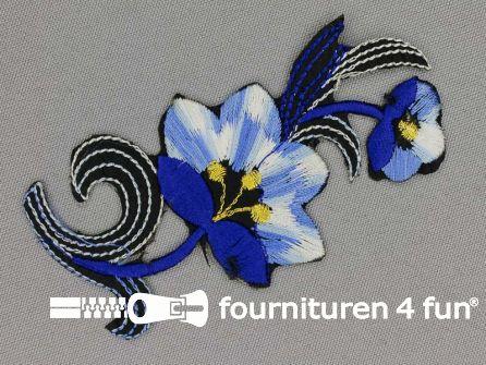 Bloem applicatie 100x47mm kobalt blauw