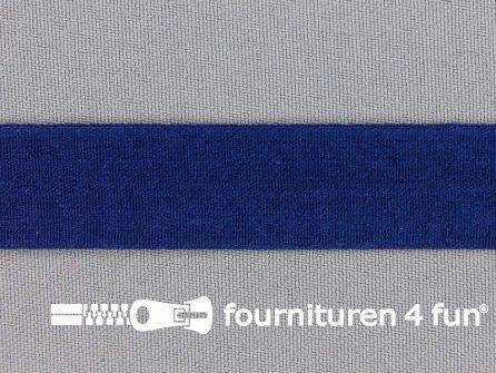 Rekbare vouwtres 20mm koningsblauw