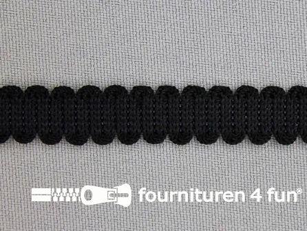 Lingerie elastiek 10mm zwart