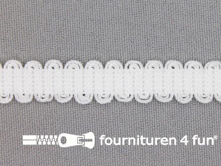 Lingerie elastiek 10mm wit