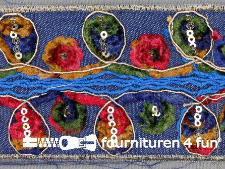 Jacquard band 60mm multicolor