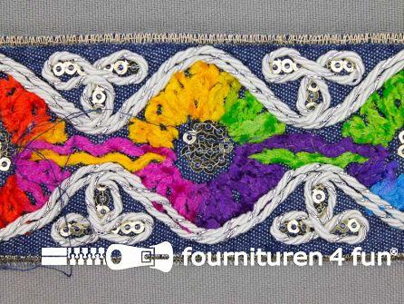 Jacquard band 45mm multicolor
