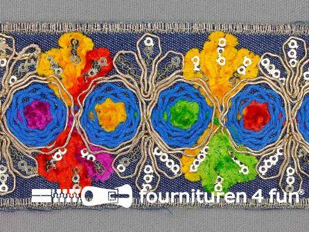 Jacquard band 55mm multicolor