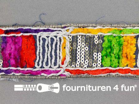 Jacquard band 40mm multicolor