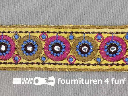Jacquard band 37mm multicolor