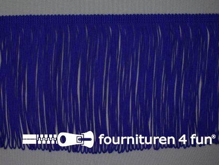 Charleston franje 150mm konings blauw