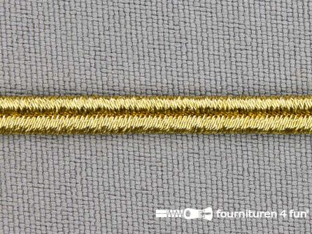 Soutache koord 4mm goud