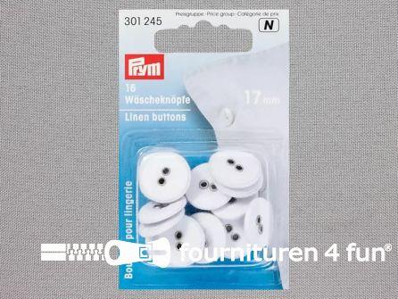 Prym Linnen knopen 17mm - 301245