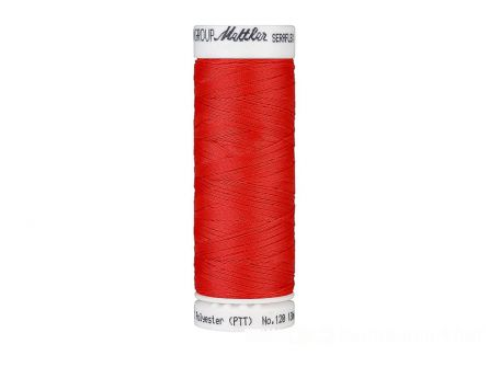 Amann Seraflex - elastisch naaigaren - rood (0104)