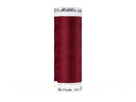 Amann Seraflex - elastisch naaigaren - bordeaux rood (0106)