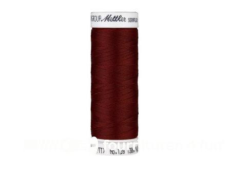 Amann Seraflex - elastisch naaigaren - donker bordeaux (0128)