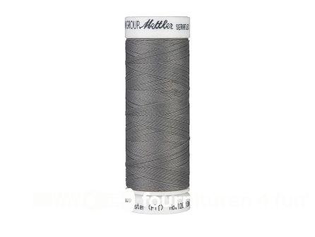 Amann Seraflex - elastisch naaigaren - platinum grijs (0318)