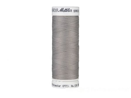 Amann Seraflex - elastisch naaigaren - zilver grijs (0340)