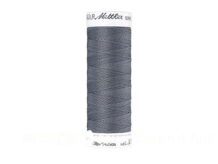 Amann Seraflex - elastisch naaigaren - donker grijs (0415)