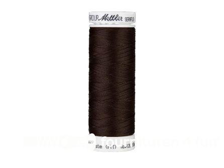 Amann Seraflex - elastisch naaigaren - donker bruin (0428)