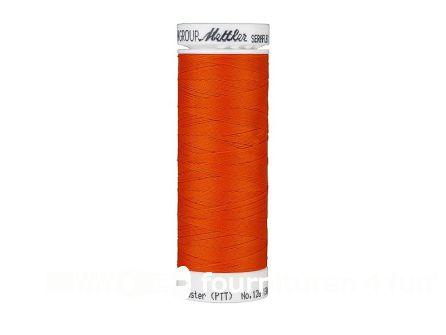 Amann Seraflex - elastisch naaigaren - donker oranje (0450)