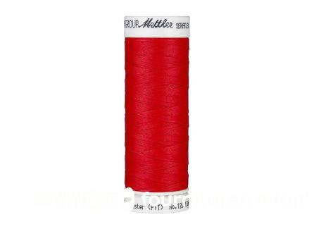 Amann Seraflex - elastisch naaigaren - helder rood (0503)