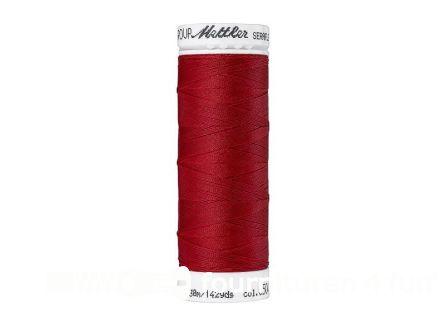 Amann Seraflex - elastisch naaigaren - donker rood (0504)