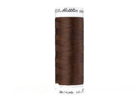 Amann Seraflex - elastisch naaigaren - donker koperbruin (0975)