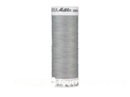 Amann Seraflex - elastisch naaigaren - midden grijs (1140)