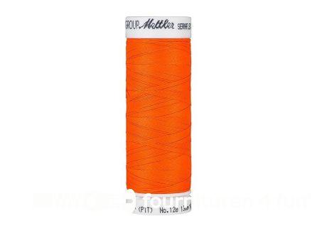 Amann Seraflex - elastisch naaigaren - neon oranje (1428)
