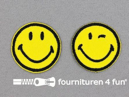 Applicatie 30mm smiley set classic