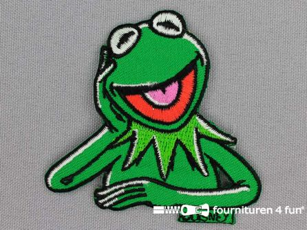 Applicatie  70x70mm The Muppets - Kermit de Kikker