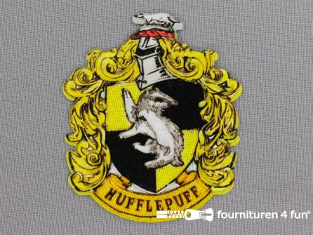 Applicatie 65x78mm Harry Potter - Hufflepuff