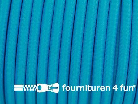 Elastisch koord 4,5mm aqua blauw
