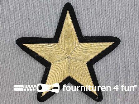 Ster applicatie 89x89mm - goud metallic